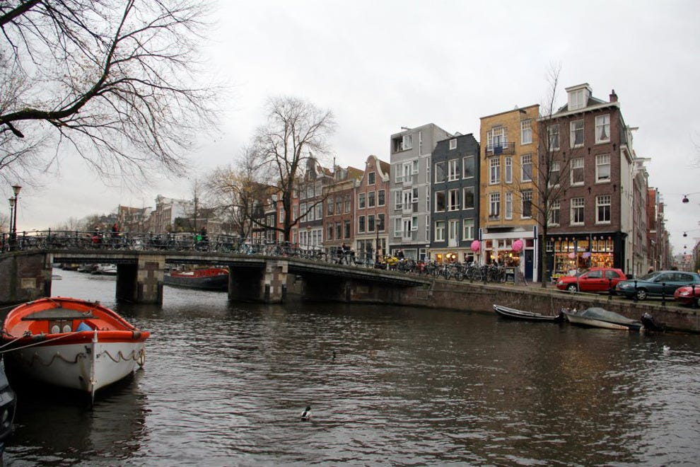 Amsterdam's Canal Ring is a romantic setting for a new fling