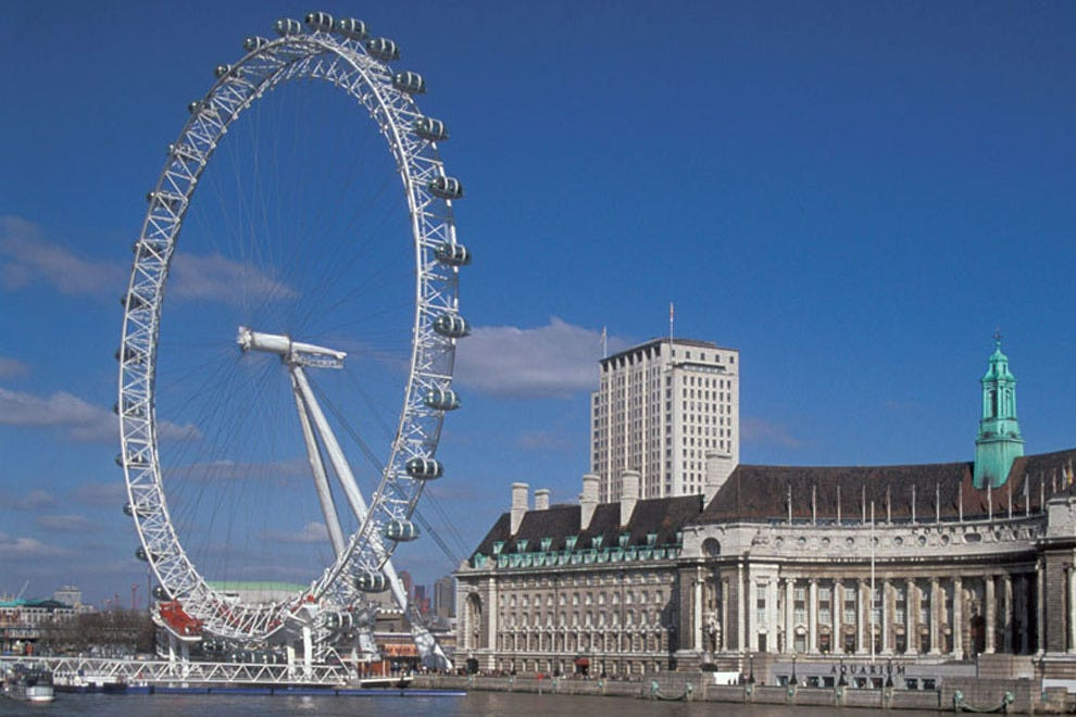 Take a ride on the London Eye with your new Tinder match