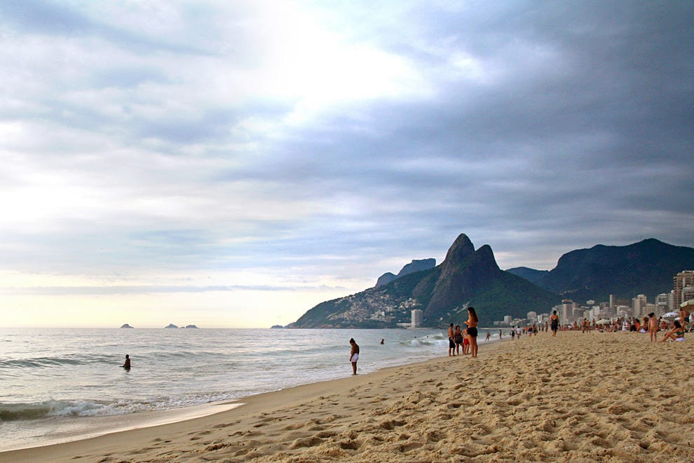 Hit one of the beaches in Rio de Janeiro