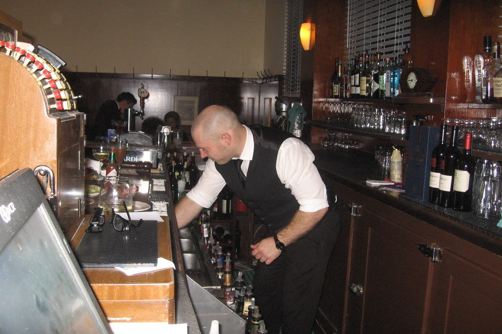 Experience and style count behind the bar at Sam's