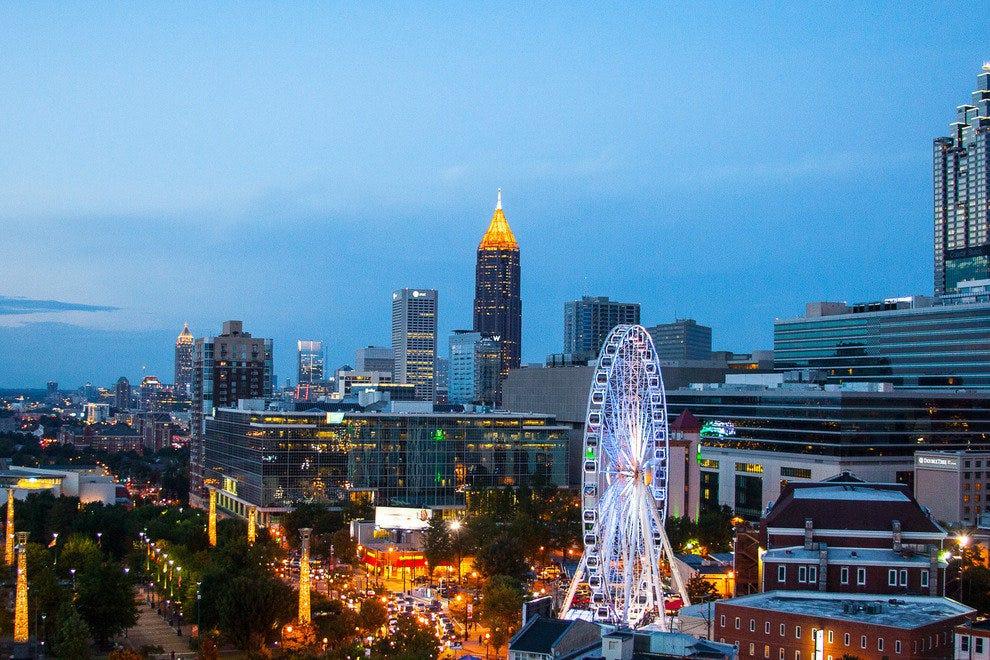 Skylounge At The Glenn Atlanta Nightlife Review 10best