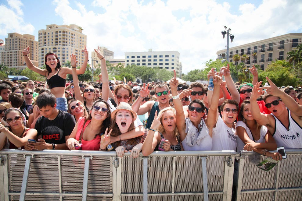Rabid concert-goers are ready for the next act at Sunfest