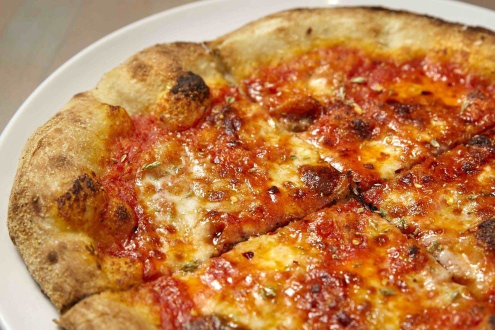 Authentic Italian pizza can be found at Love & Salt