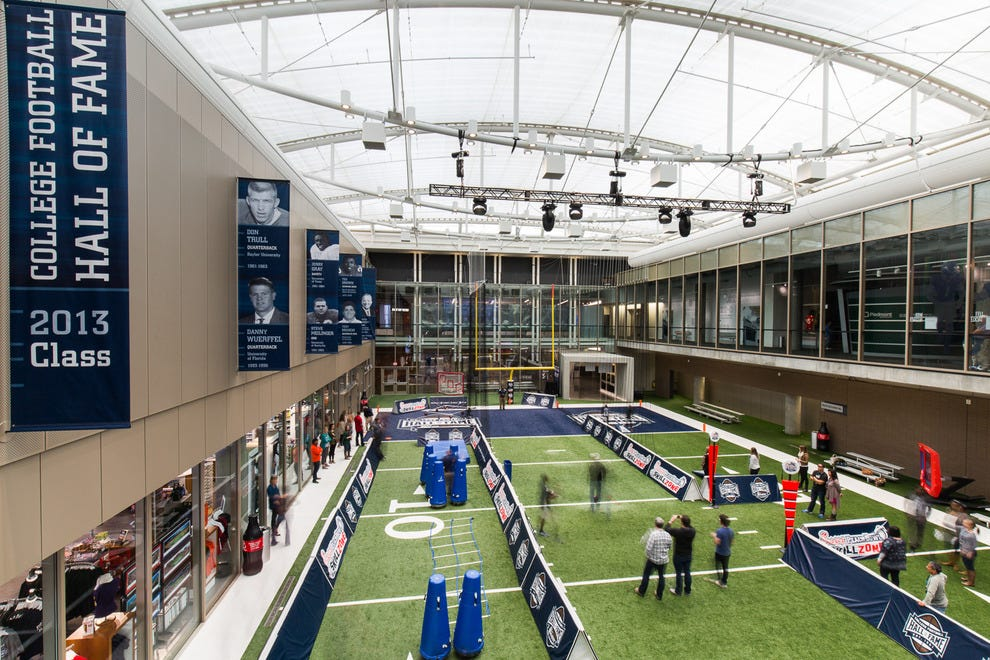 Chick-fil-A Peach Bowl Skill Zone