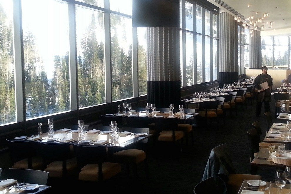 The Aerie Restaurant At Snowbird Salt Lake City Restaurants Review 10best Experts And Tourist Reviews