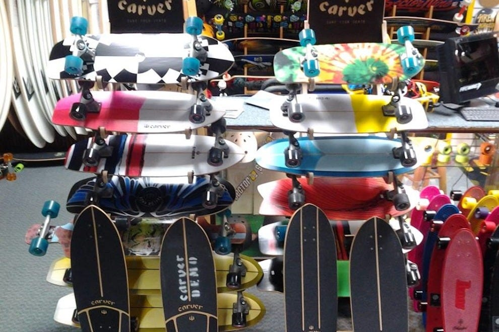 Skateboards at Longboard House