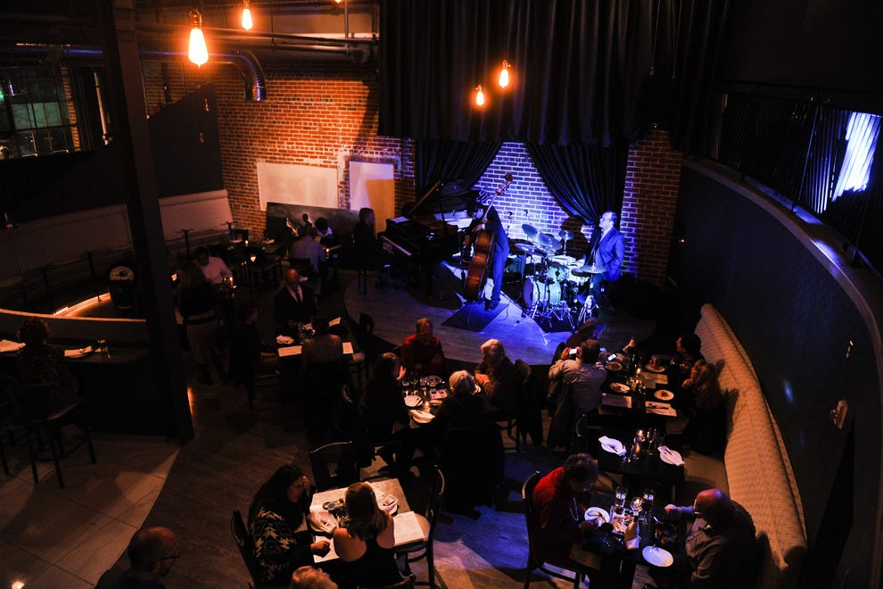 Nocturne is a Great Depression-era jazz and super club with a modern menu