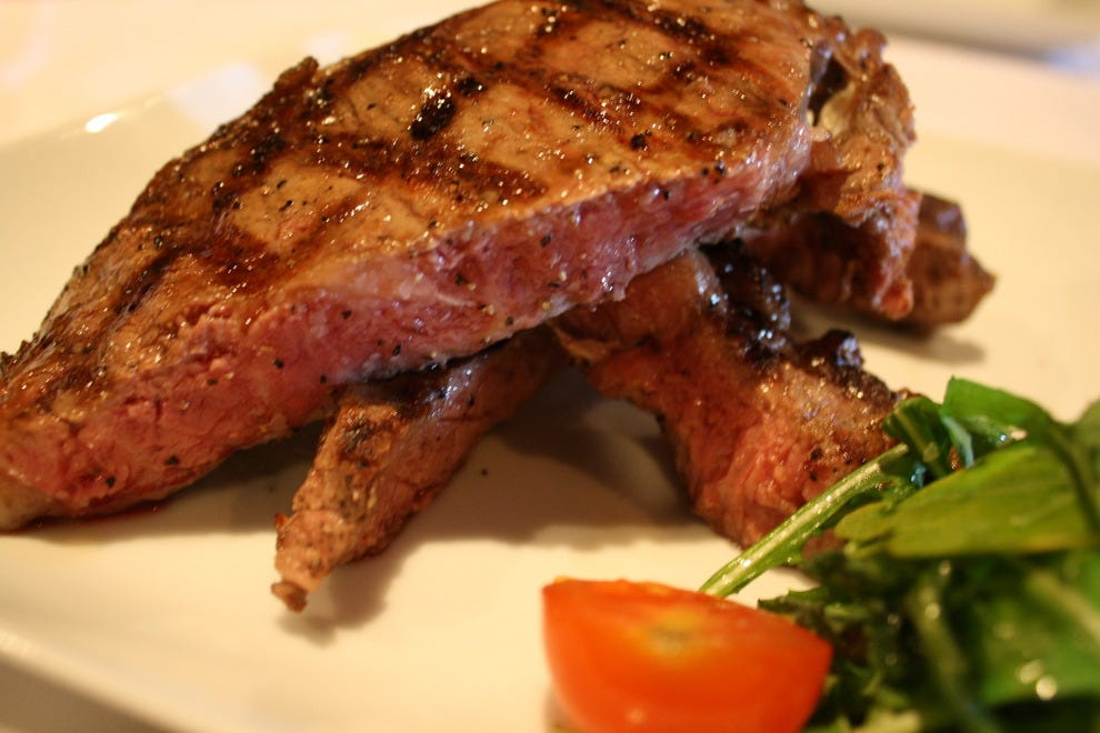 Werner's Prime Steaks & Seafood's Porterhouse steak