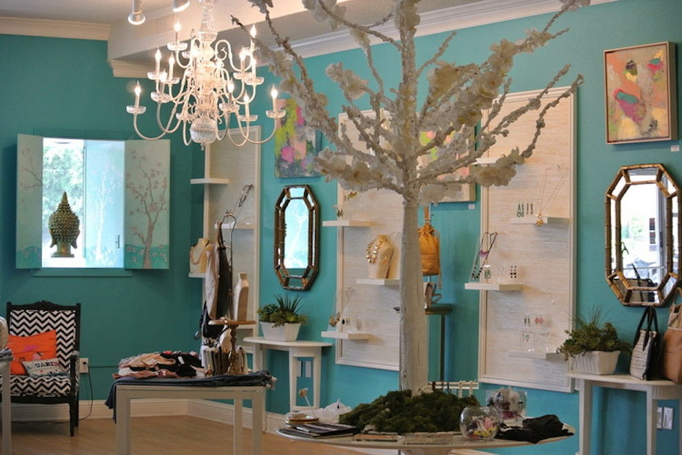Inside Aquarius boutique