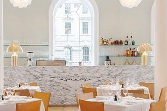 Spring Restaurant Has Sprung at London's Somerset House