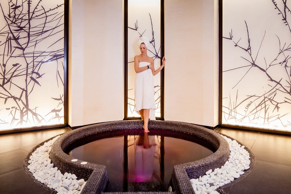 Baglioni SPA by Caschera SPA is the ultimate in luxury pampering