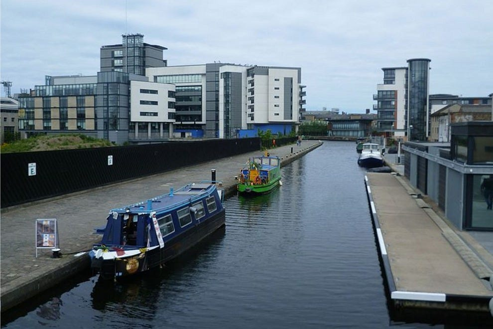 Union Canal at Fountainbridge