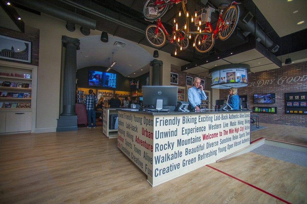 Visit Denver Tourist Information Center