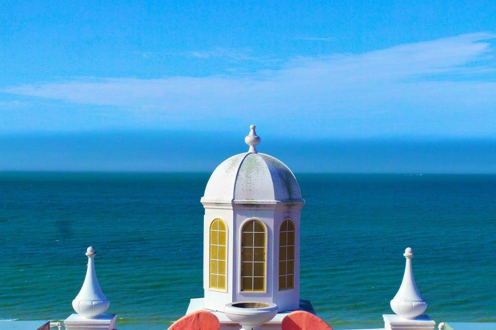 墨西哥湾提供了完美的背景。