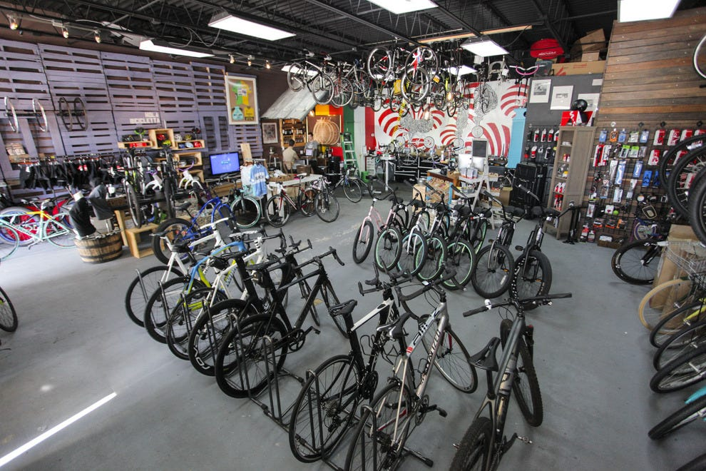 Open Road Bicycles in Jacksonville Beach is like no other bike shop you will visit