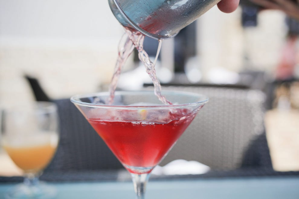 Hand-crafted cocktails make the perfect pairing to Azurea's award-winning cuisine