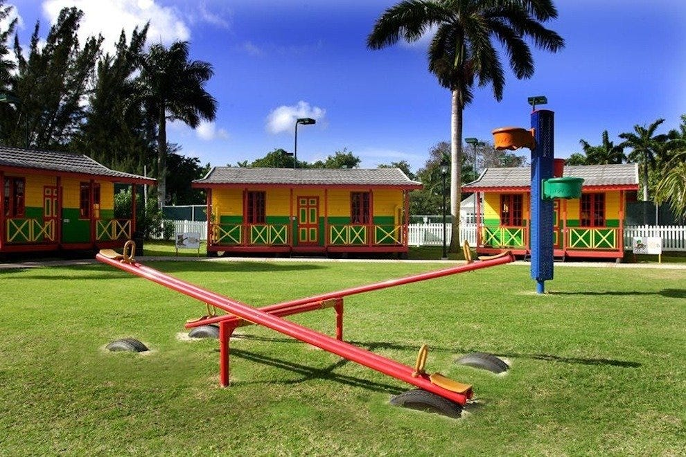 Colorful Kiddie Wonderland: Half Moon, A RockResort, Jamaica
