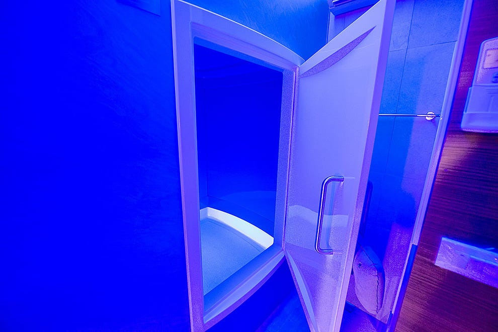 Enter the magical world at Theta State Float Center