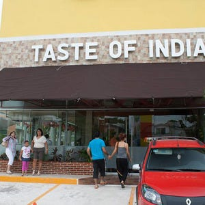 Indian Restaurant In Downtown Cancun