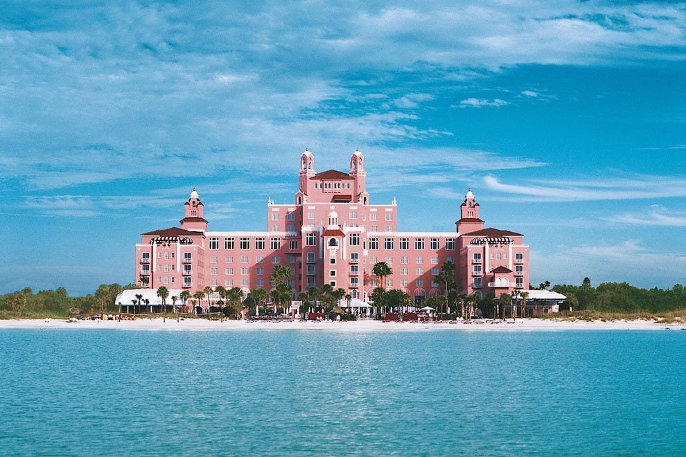 Also Known As The Pink Palace Loews Don Cesar Hotel Is Located On St Pete Beach Photo Courtesy Of