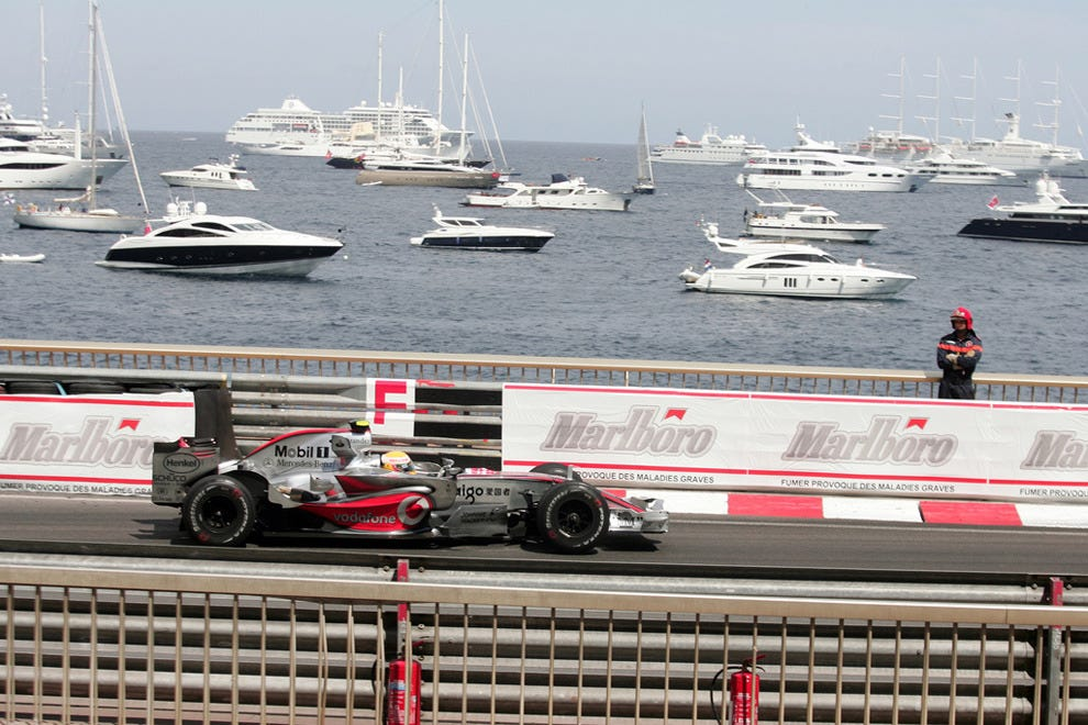 Watch the Monaco Grand Prix in Monte-Carlo