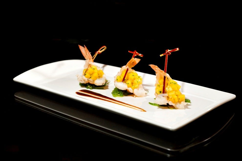 Blanc asia restaurant asian favorites with a latin - Modern american cuisine ...