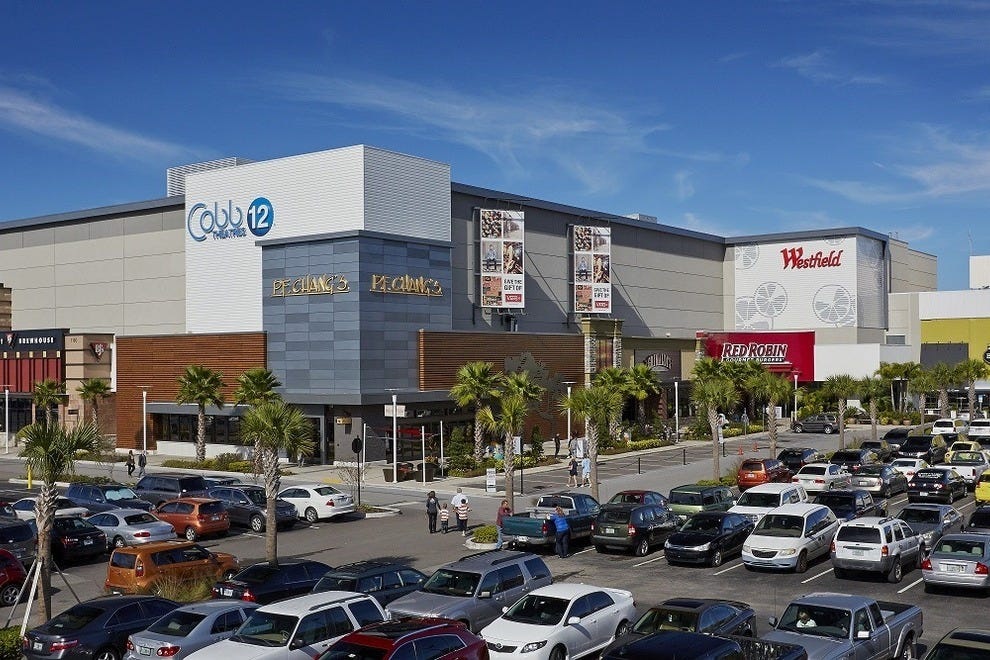 The mall is located in Clearwater, just minutes from the airport and beaches