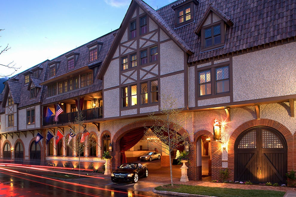 Stay in the heart of the Biltmore Village at the Grand Bohemian, Asheville