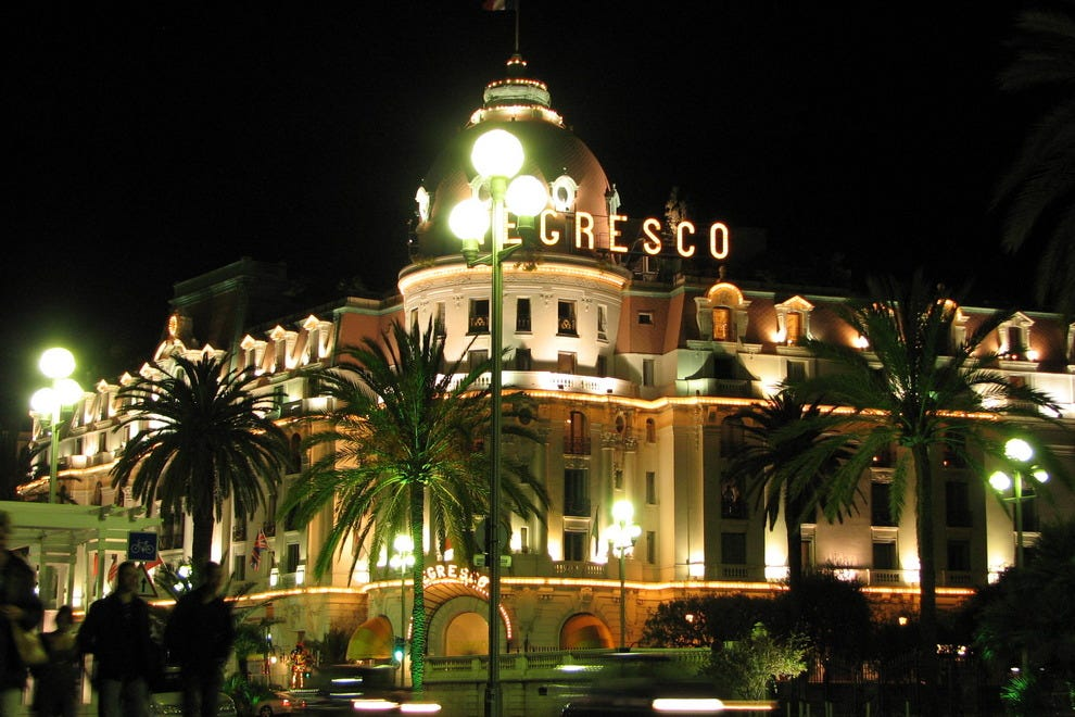 Nice hotels and lodging nice hotel reviews by 10best for Best hotels in nice