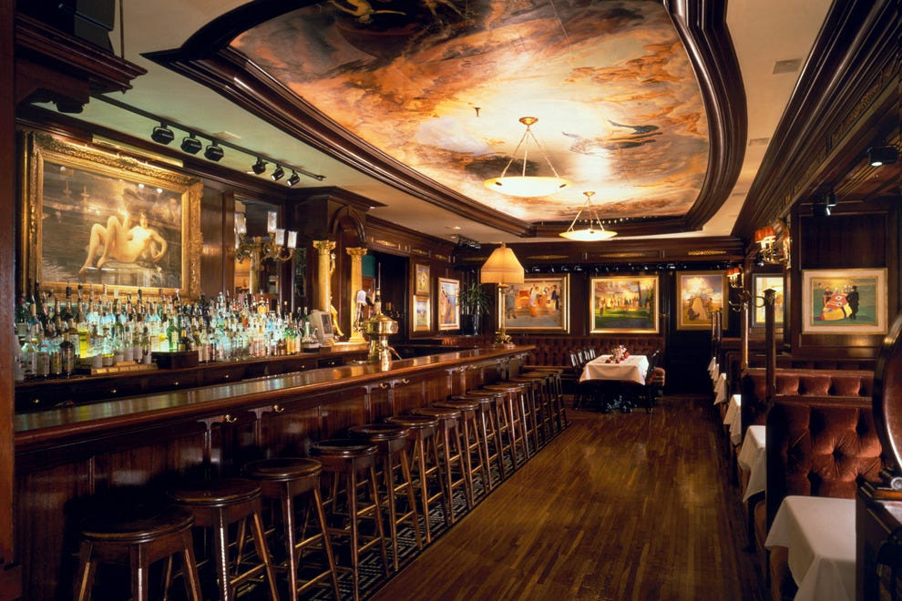 Old Ebbitt Grill has a beautiful Victorian interior dating back to 1856