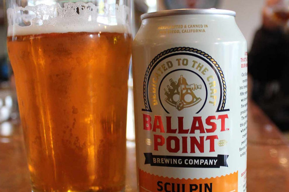 Sculpin IPA, Ballast Point Brewing