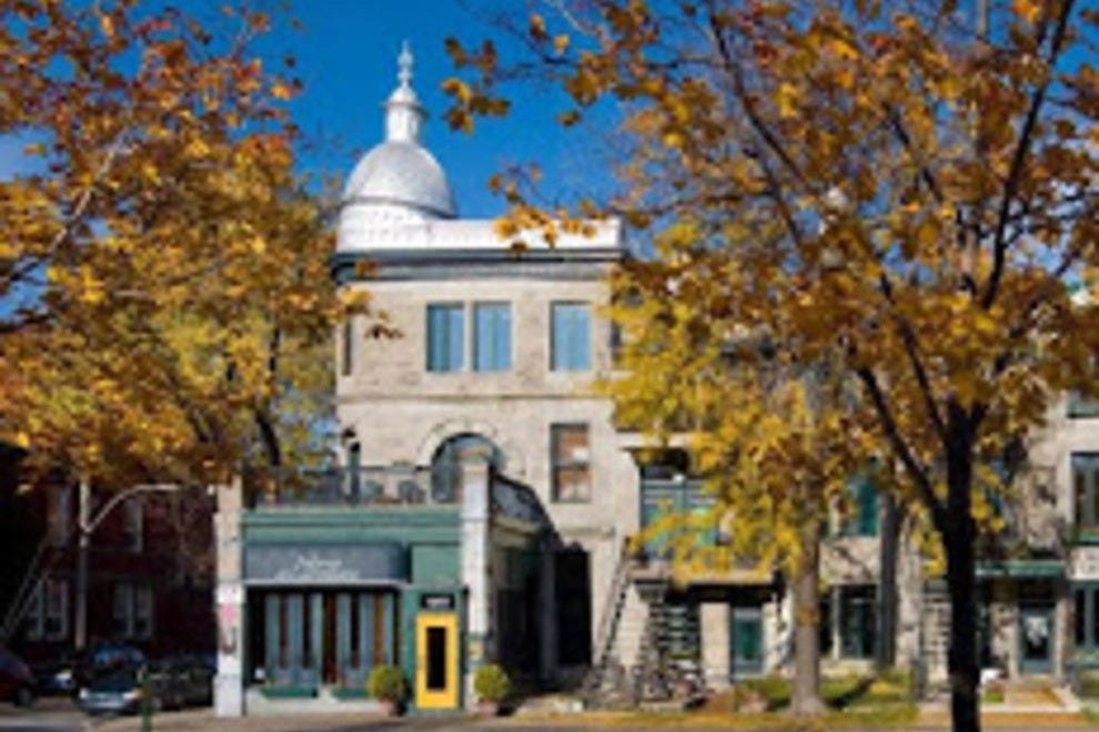 Montr al bed and breakfast in montr al qc bed and for Auberge jardin d antoine montreal