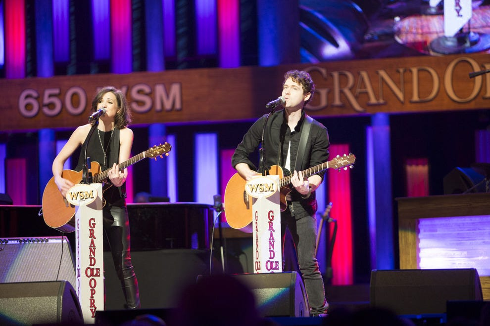 The Grand Ole Opry showcases longtime legends and hot, emerging acts like Striking Matches.