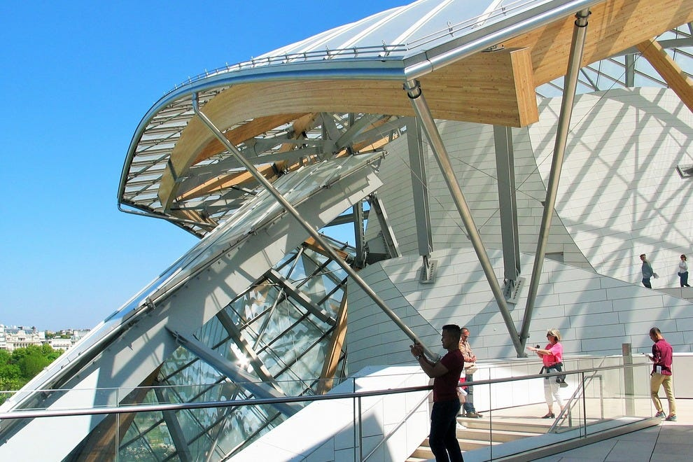 Fondation Louis Vuitton Paris, a Frank Gehry-designed architectural landmark