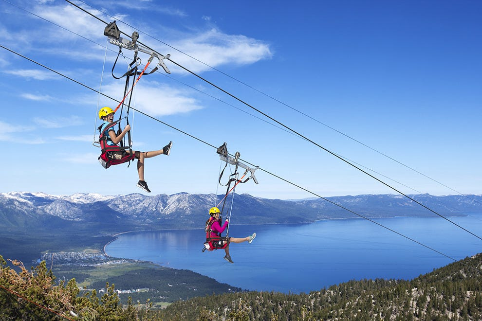 Heavenly Mountain Resort's Blue Streak zip line