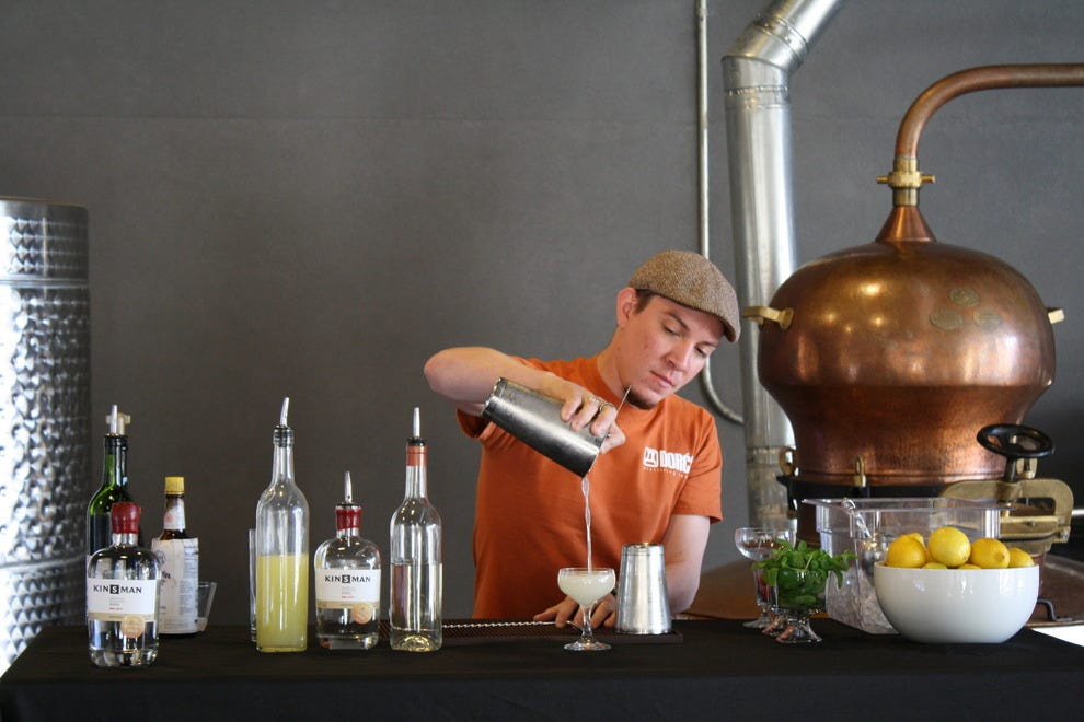 San Antonio S Urban Distillery Transforms Into Cocktail