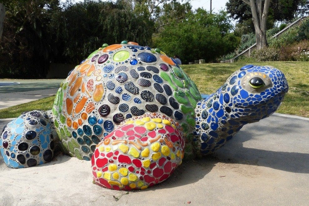 """Laguna Tortoise"" by Michele Taylor (2003)"
