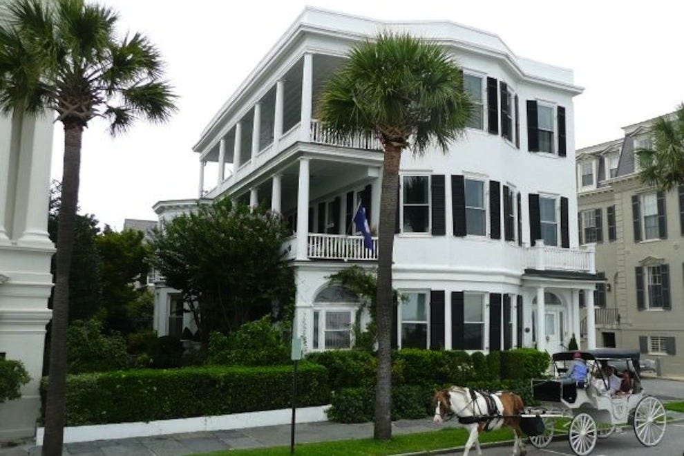 Charleston: Bed and Breakfast in Charleston, SC: Bed and