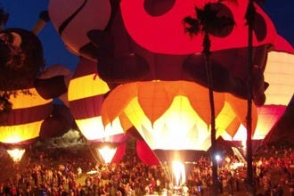 Cave Creek Balloon Festival Lights Up the Arizona Desert