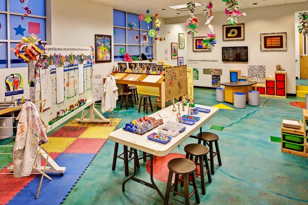 摩兰艺术中心为成人和儿童提供艺术课程