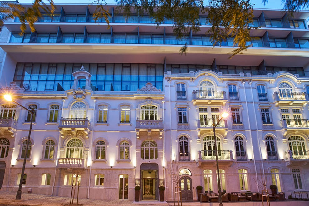 Lisbon hotels and lodging lisbon hotel reviews by 10best for Hotel design ligurie