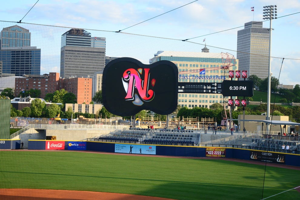 Nashville says 39 play ball 39 at first tennessee park for 67 st pauls terrace spring hill