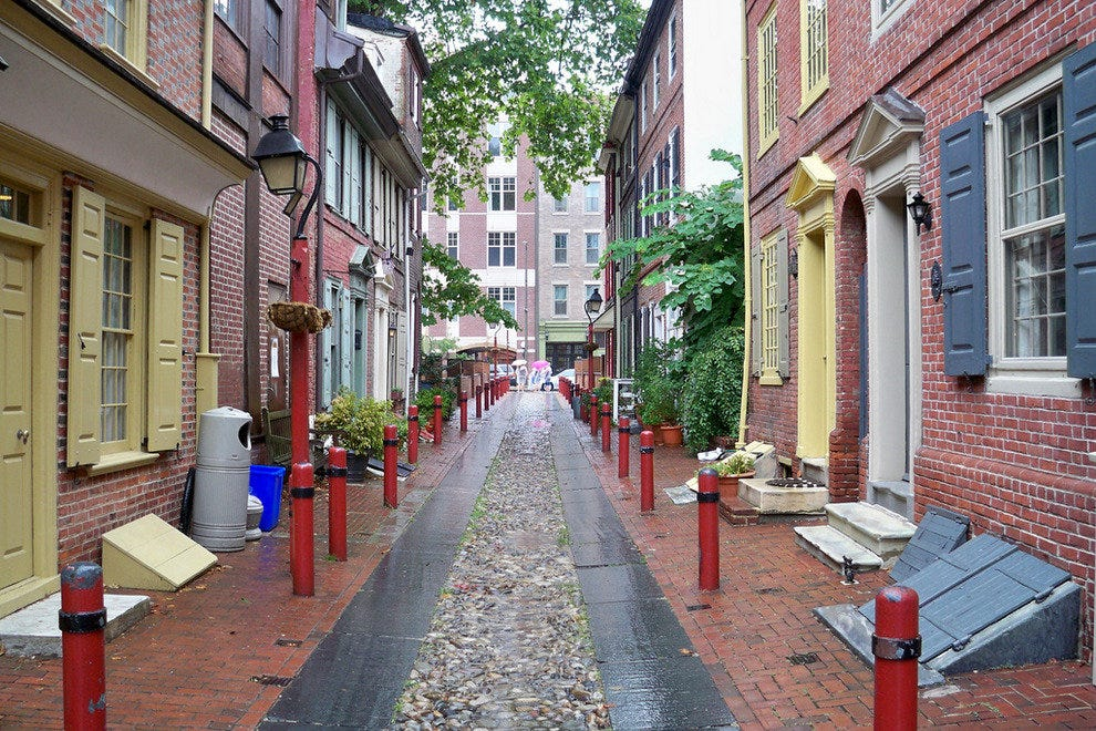 Elfreth 39 s alley philadelphia attractions review 10best for Top things to do philadelphia