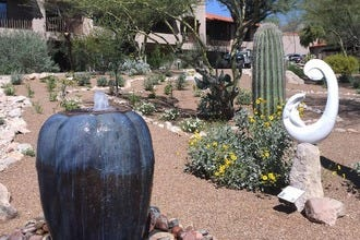 Serenity Garden Blooms at Tucson's The Westin La Paloma Resort