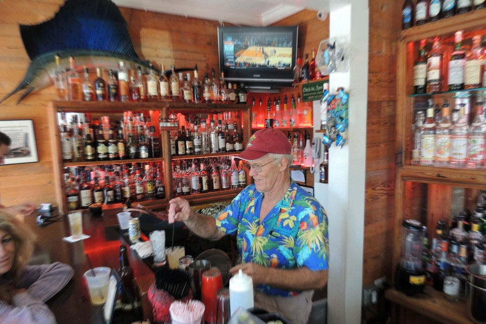 The Rum Bar at the Speakeasy Inn