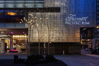 Fairmont Pacific Rim Lights Up with Art Installation, Summer Package