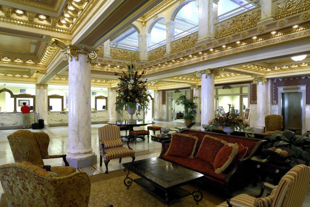 French Lick Springs Hotel Lobby 54 Resort Photo Tour  Readers Choice