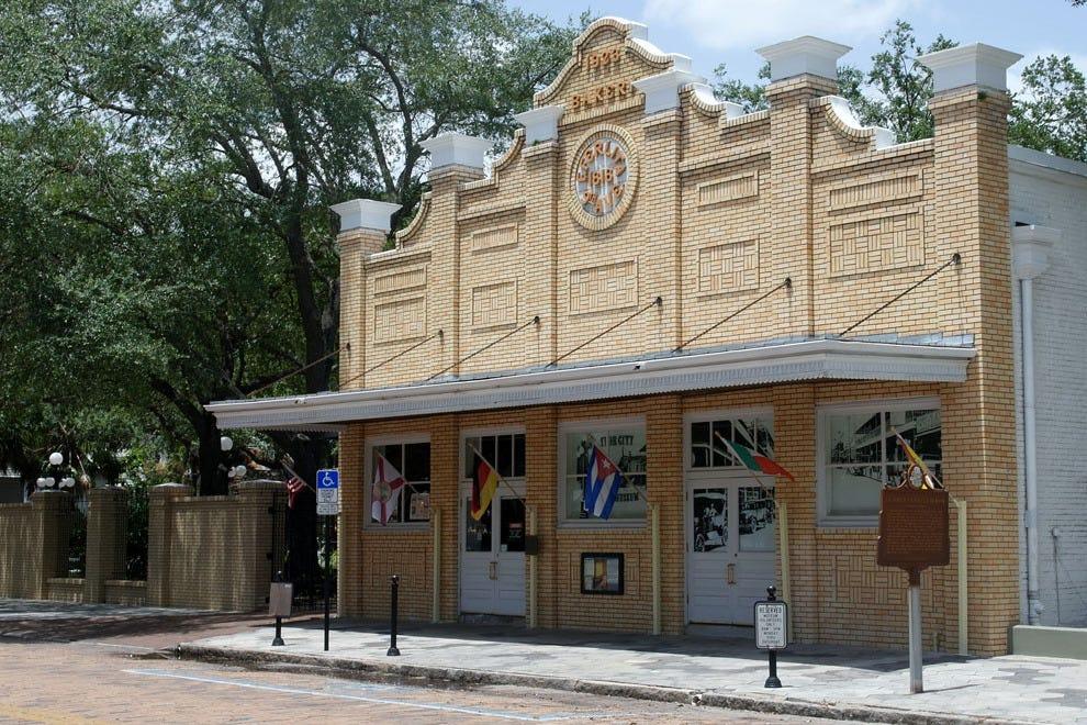 坦帕市的Ybor市国家博物馆可以在翻新的历史悠久的Ferlita面包店找到