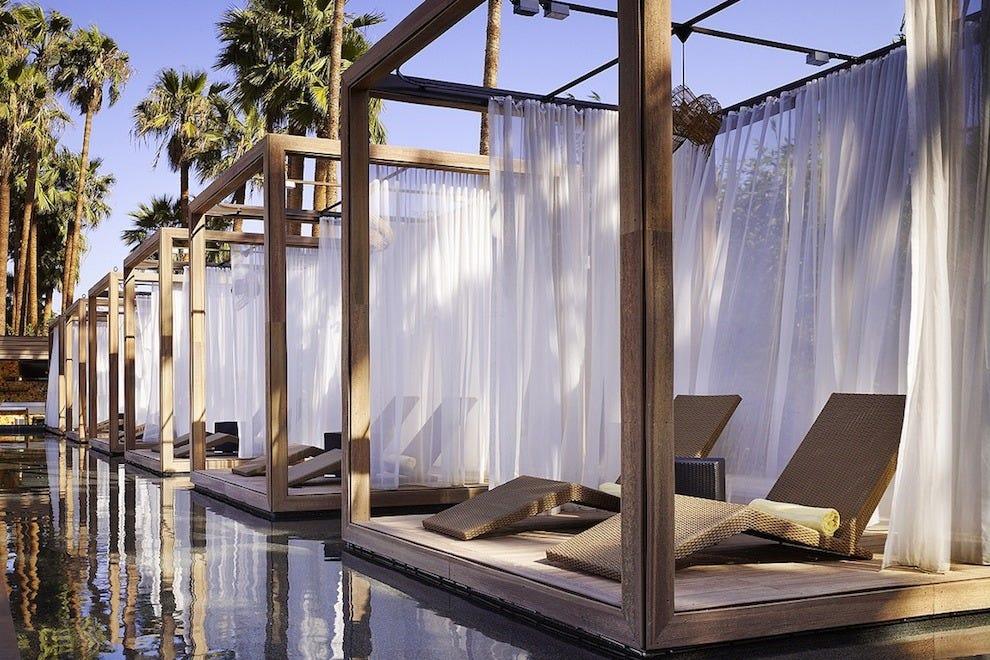 Poolside Cabanas At Hotel Maya Photo Courtesy Of