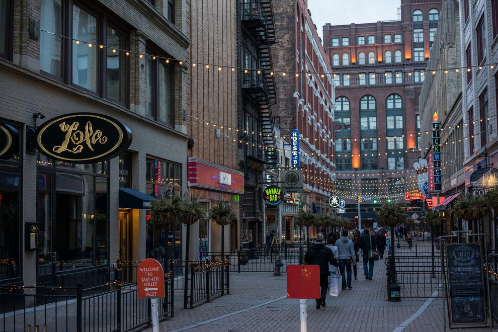 Cleveland's East 4th Street
